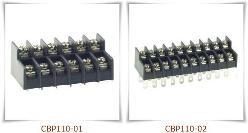 CBP110 雙層接線端子台,PCB端子台
