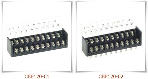 CBP120 雙層接線端子台,PCB端子台