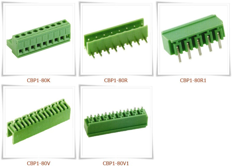 CBP1-80 插拔式接線端子台,PCB端子台